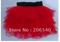 Fashion New Sexy Girl's Women Tutu Gauze Tier Layered Cake Mini Skirt
