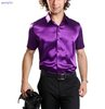2012new men's casual fashion short sleeve shirts Silk shirts,silk short-sleeved,mens Clothes,Men's shirt