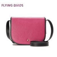 Сумка через плечо FLYING BIRDS 2012 Hot Sale High Quality PU Leather Fashion Women Lingge Handbag Unique Ladys Embroidered Bag WQ1003