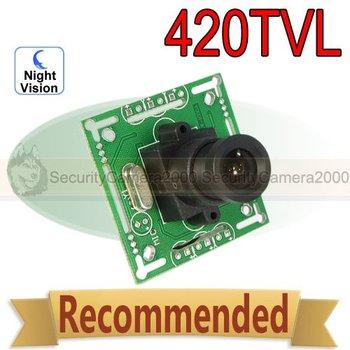 420 TVL 3.6mm Lens Color CMOS Board Camera for CCTV Security