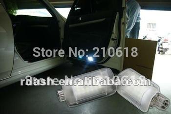 (El envío gratuito ) cortesía LED debajo de la lámpara de la puerta para Nissan Teana J32 para Infiniti G35 G37