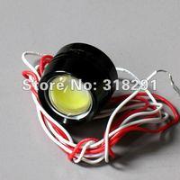 2x 3W 12V 24vcar led reversing light eagle eye lamp Backup Stop Tail daytime running light White Color 2