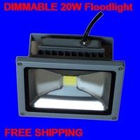 20W Dimmable LED floodlight 100-240V Epistar IP65 waterproof advertise garden lamp 1*20W FREE SHIPPING Wholesale BILLIONS-LAMP