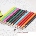 12 color pencil set  mini size 9cm length-children colored pencil-painting pencil good quality-free shipping