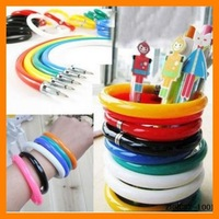 Free Shipping 30 pcs/lot Fashion Korean Pen Bracelet Gift Bracelet School Children Bracelet ZHHCSZ-1001
