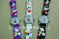 Hotsale!Fashional Snoopy kids 3D toy  wristwatches ,50pcs/lot
