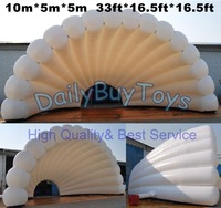 TT15 Crazy Price Inflatables Event shell dome Tent PVC/Oxford 33ft  + Free Reapir kits + Free CE/UL Blower + Free Shipping