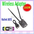 300M USB WiFi Wireless Network Card LAN Adapter 802.11 n/g/b w/ Antenna MIMO CCA ,Free Shipping+Drop Shipping