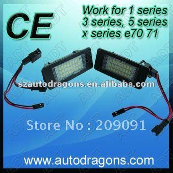 Lowest price easy instal LPL-E39 LED license light for e39 e88 e82 e70 71