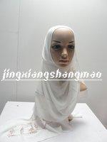 Undershirt cloth manual seam bead scarf