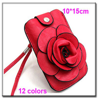 2013 fashion new genuine women leather flower messenger bags C-95