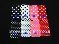 Чехол для для мобильных телефонов Cute Penguin Style Soft Silicon Back Case Skin Cover for iPod Touch 4 4G, 30pcs/lot
