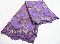 Free shipping By DHL! lace fabric,swiss lace,african lace fabric,100% cotton,voile lace,heavy big design,wholesale and retail