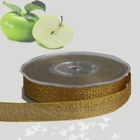 "Gold Metallic  Ribbon   3/8"" Gold Glitter Ribbon    Metallic Glitter Ribbon   Price Negotiated"
