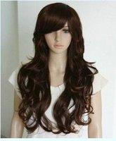 Fashion long Wavy Dark brown wig(same pictures)
