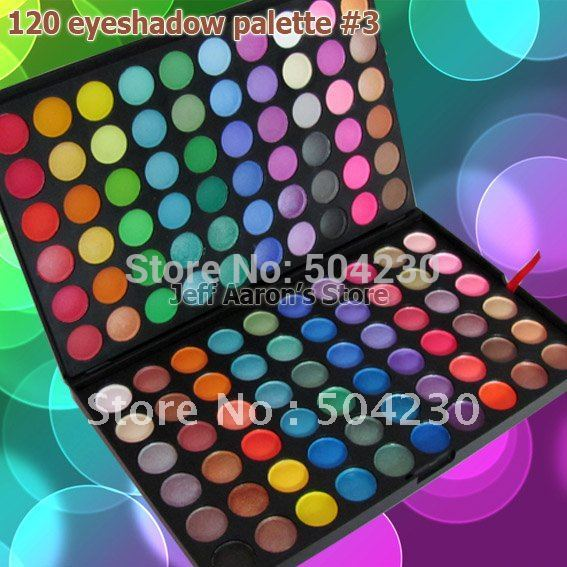 Wholesale 88 Warm Color Eyeshadow Palette Eye shadow Make Up Palette Cosmetic Matte Eye Shadow  Free Shipping 4sets/lot