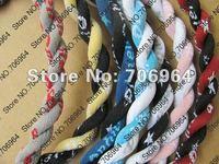 "Titanium Necklaces US version 2 ropes Tornado Necklace many colors 18"" 20"" 22"" with retail box 100 PCS"