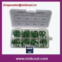 wholesale and retail 140pcs O-ring kit case