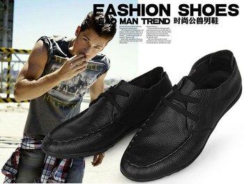 wholesale men's fashion shoes,Leather  shoe, men's Super soft shoe, free shipping by HK Post Air Mail, NVT74