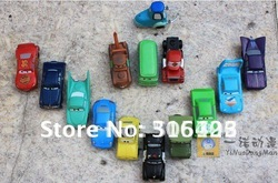 Free shipping NEW 14 pcs/set Pixar Car Figures Full Set Roadmaster(China (Mainland))
