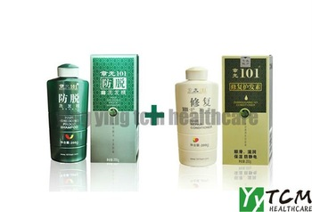 Hot around world!! zhang Guang 101 hair shedding proof Shampoo 200g/pcs + hair repair conditioner 200g/pcs hair loss therapy