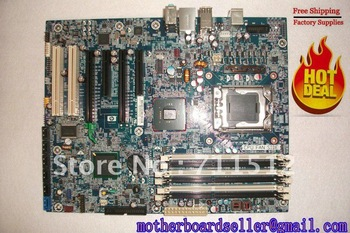For HP motherboard 586968-001 586766-001 for HP desktop motherboard Z400 Z600 Workstation mainboard Intel X58 6 DIMM