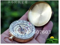 New High Quality Classic Brass Pocket Watch Style Compass COMPASS CAMPING HIking