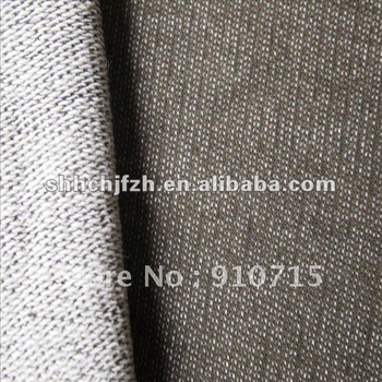 Cotton Interloop Knit Textile Fabric