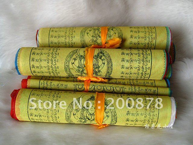 C32 Tibetan Buddhist Prayer Flags,157inches,20 sheet per set,Tibet Lung Ta Wind Hourse flag(China (Mainland))