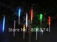 2M 8 X Column (12 Led each Column 20CM longth ) String LED Meteor Rain Light blue