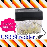 Mini USB Powered Desktop Paper Cut Shredder Letter Opener ,New usb gadget / USB gift