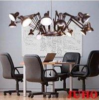 Modern Design Chandelier 9 Lights Ceiling Light Scaleable Spider Pendant Lamp+free shipping