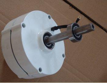 Free DHL shipping !  200W 50HZ 12V /24 V NdFeB rare earth permanent magnet generator / low speed alternator