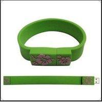 usb wristband drive 1GB/2GB/4GB/8GB/16GB OEM LOGO freeshipping