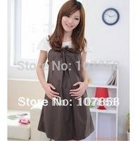 2014 Hot sale European style suspender dresses Maternity Dresses Pregnant women dresses Maternity skirt maternity clothing