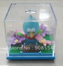 Free shipping via EMS  40pcs per lot    novelty solar   toy    body shaking  under sunshine(China (Mainland))