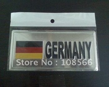 Germany plate / license plate 1 piece