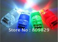hot  sell  Free Shipping  wholesale  50pcs/lot laser finger beams flashing finger lights flashing ring led finger lamp