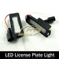 LED License Plate Light Lamp for VW Golf EOS Lupo Beetle Passat Phaeton Polo