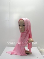 Pure cotton very hot brick long towel