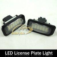 LED License Plate Light Lamp for Mercedes-BENZ W203 4D Sedan