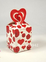 Best selling! EMS Free shipping! 200pcs/lot chocolate box ,wedding candy box . Retail/wholesale