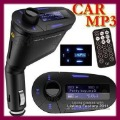 Car MP3 Player Wireless FM Transmitter With USB SD MMC Slot