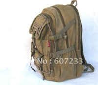 Free shipping Western Pack 50L Hiking Hunting Camping Internal Frame Backpack KHAKI NEW Professional Backpack Large canvas bag