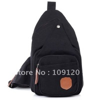 FREE Shipping Hot sale! Men Mini Canvas bags black khaki  shoulder bags high Quality