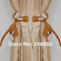 C2 Long-tail monkey Curtain belts/Newest design Curtain belt, 2 pairs/lot