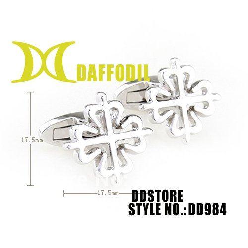 DDstore wholesale mens cufflink metal cuff links fashion cufflink french cuff button novelty cuff link elegant cufflinks DD984(China (Mainland))