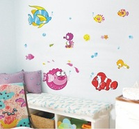 2 SETS 33*60 CM FINDING NEMO wall stickers MURAL posters decor HL-957