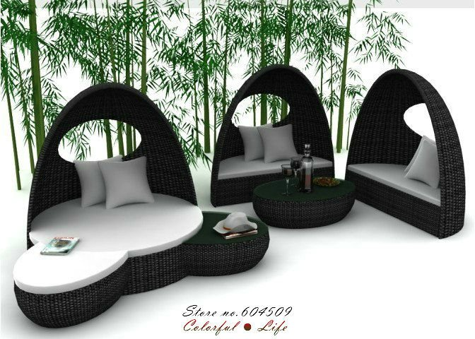 Ys Outdoor Furniture Decoration Access