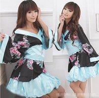 Free Shipping Wholesale Sexy Lingerie Sexy Dress Kimono Costume sleepwear Sex toys Sexy Costumes New Fashion Dress Women